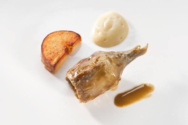 Carciofo, menta e patata