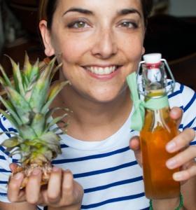 Ritratto con aceto di ananas-1